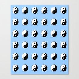 Yin and Yang- Tao,Zen,Taoism,Dao,Harmony,religion,buddhism,buddhist,taijitu,taiji,taoist,china Canvas Print