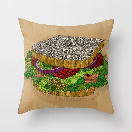 Sanduchito Throw Pillow