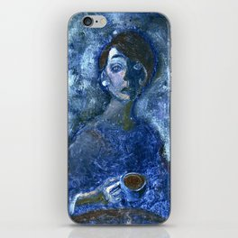 Coffee with Picasso iPhone Skin