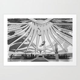Brasilia - Cathedral Art Print