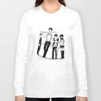 levi Long Sleeve T-shirts featuring Squad Levi by PaigeAWArt