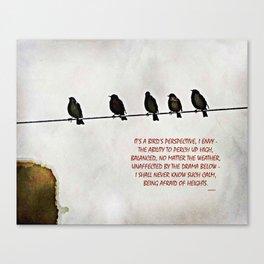 A Bird's Eye View Canvas Print