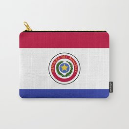 Paraguay flag emblem Carry-All Pouch