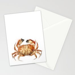 Crab | Watercolor Stationery Cards