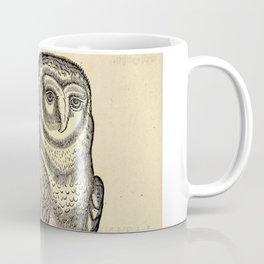 Antique Barn Owl Coffee Mug