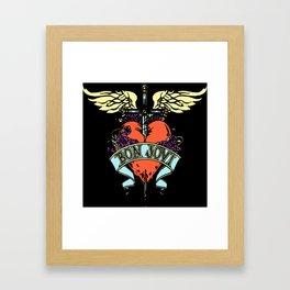 JN BON JOVI 02 Framed Art Print