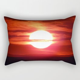 Fireball Above the Saint-Lawrence Rectangular Pillow