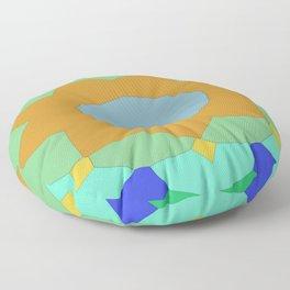 Unrepresented Aetiology 13 Floor Pillow