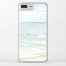 Sea Mist Clear iPhone Case