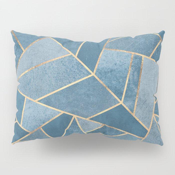 Dusk Blue Stone Pillow Sham