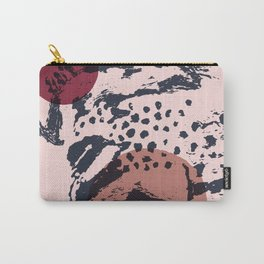 sketch#2-burgundy nude Carry-All Pouch