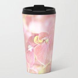 Some Soft Pink Flowers Hydrangea #decor #society6 Travel Mug