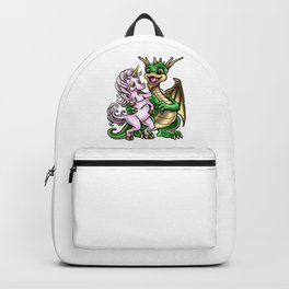 Dragon And Unicorn | Friendship Embrace Creature Backpack