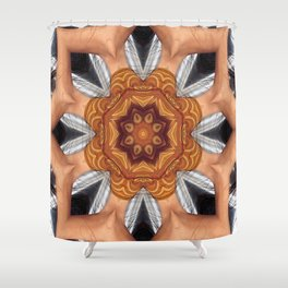 Social Disruption Shower Curtain