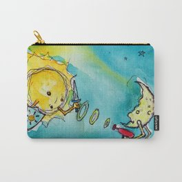 Sun Versus Moon Carry-All Pouch