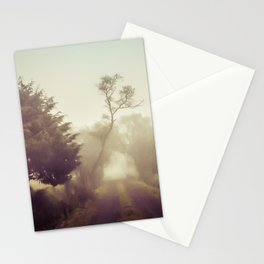 Walking in the fog Stationery Cards