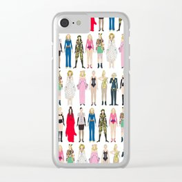 Outfits of Madge Fashion Clear iPhone Case