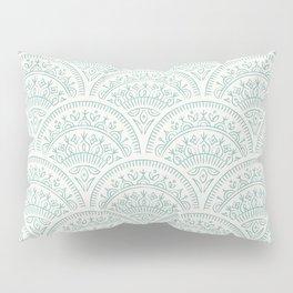 Bohemian Scallops - Jade Pillow Sham