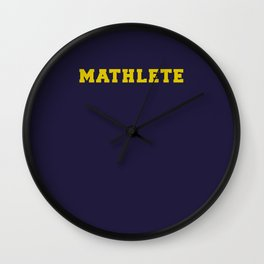 Mean Girls #9 – Mathlete Wall Clock