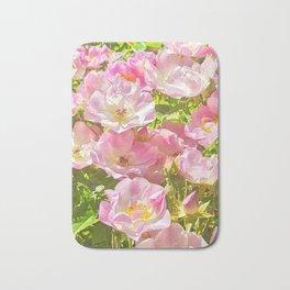 Sun Soaked Roses Bath Mat