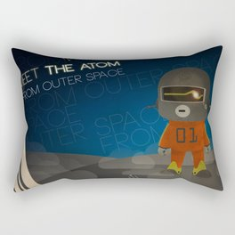 Meet The Atom Rectangular Pillow