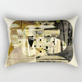 Composition Number Three Rectangular Pillow