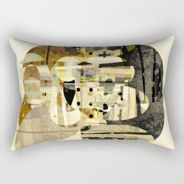 Composition Number Three Rectangular Pillow