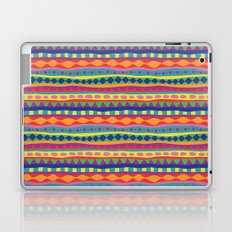 Stripey-Crayon Colors Laptop & iPad Skin