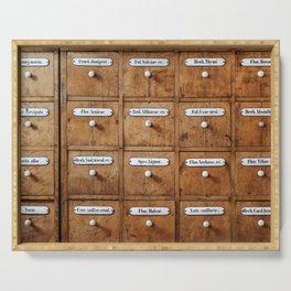 Pharmacy storage Serving Tray