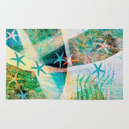starfish decor ##### Rug