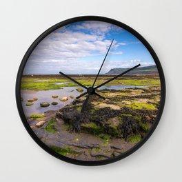 Robin Hood's Bay, North York Moors - England Wall Clock