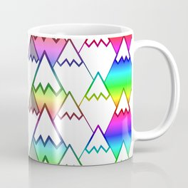 Colorful mountain tops Coffee Mug