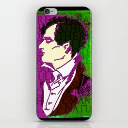 LORD BYRON, POET, HELLRAISER AND MADMAN iPhone Skin