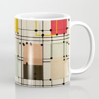 bedding Mugs featuring embrace uncertainty by spinL