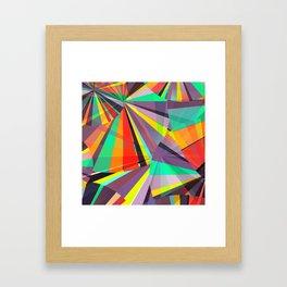 Magic circles number one Framed Art Print