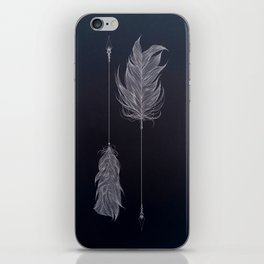 ..and then whats left is your arrow. iPhone Skin