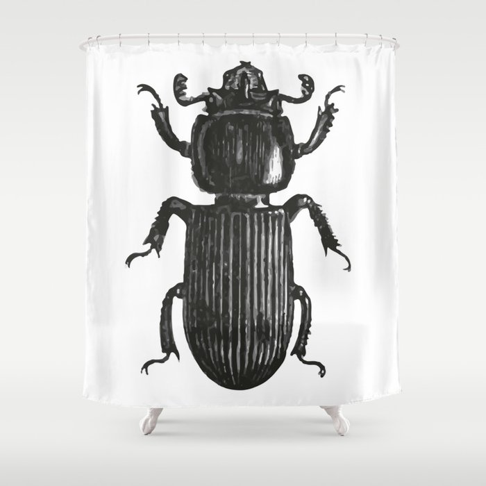 Bug Shower Curtain By Upopot