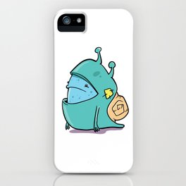 Snail-o iPhone Case