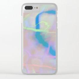 BLUR Clear iPhone Case