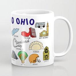 Cleveland Ohio Icons Coffee Mug