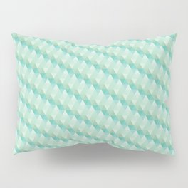 Green Pattern Pillow Sham