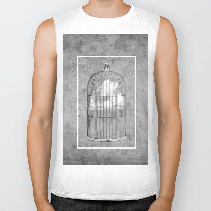 Cloud Cage Biker Tank