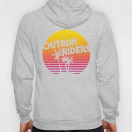 Outrun Riders Sunset Hoody