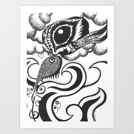 Two Elements Art Print