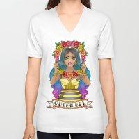 buzz lightyear V-neck T-shirts featuring Buzz Buzz by Jade Boylan