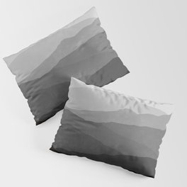 Big Mountain Fog Pillow Sham