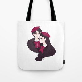 The Charbonniers Tote Bag