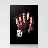 teen wolf Stationery Cards featuring teen wolf by kikabarros