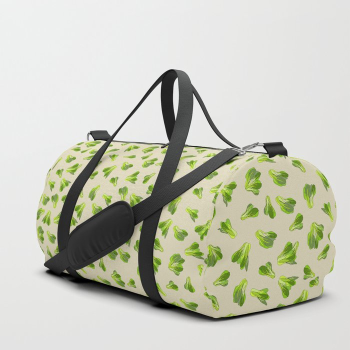 Lettuce Bok Choy Vegetable Duffle Bag