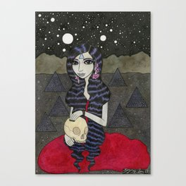 Mary, Seated Canvas Print